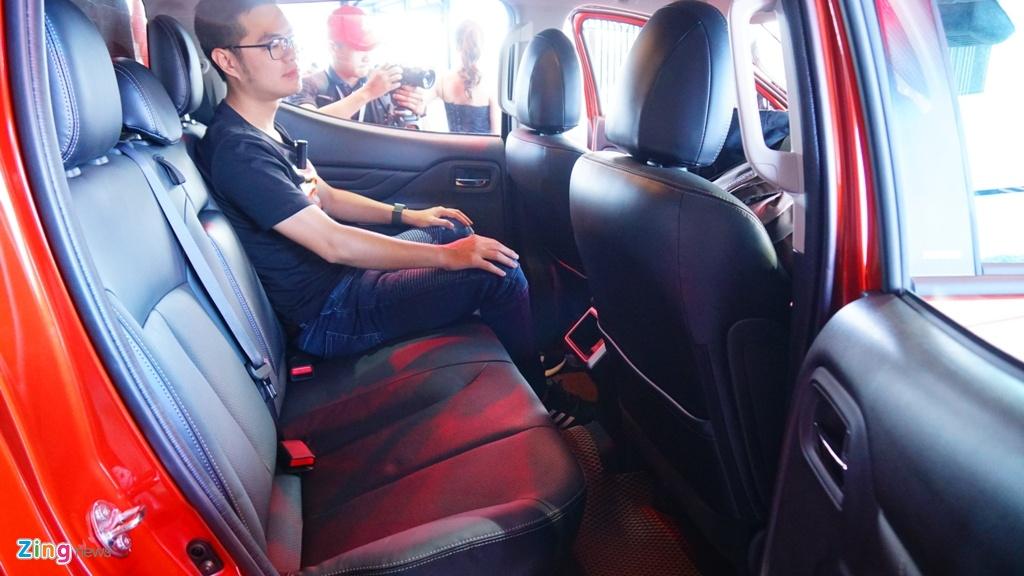 Mitsubishi Triton 2020 ra mat tai Viet Nam, gia tu 600 den 865 trieu