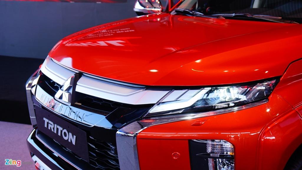 Mitsubishi Triton 2020 ra mat tai Viet Nam, gia tu 600 den 865 trieu hinh anh 3