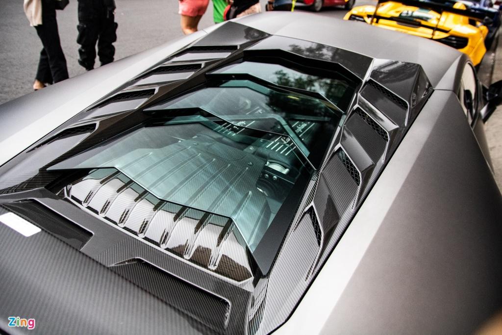 Lamborghini Huracan phong cach sieu xe trieu do Reventon tai TP.HCM hinh anh 9