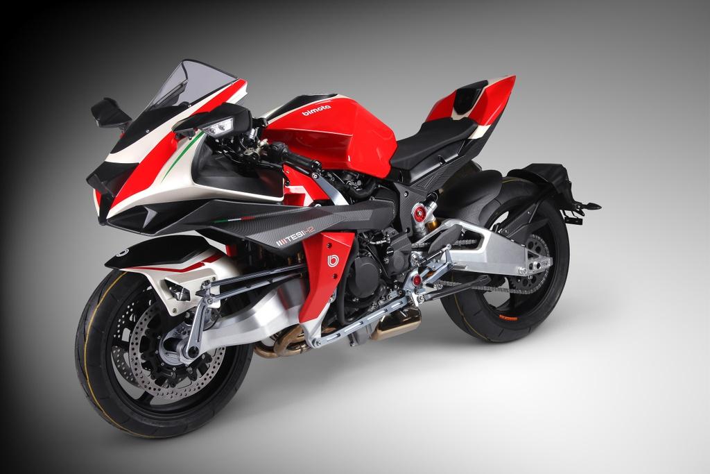 Bimota Tesi H2 Concept - moto pha tron phong cach Nhat va Italy hinh anh 1