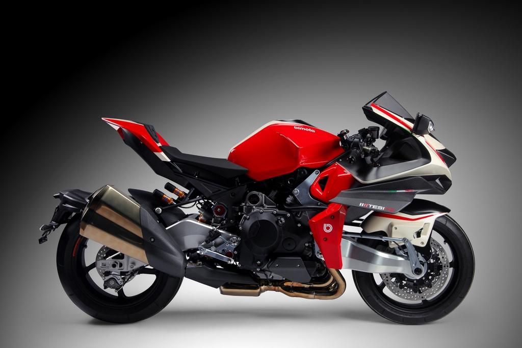 Bimota Tesi H2 Concept - moto pha tron phong cach Nhat va Italy hinh anh 2