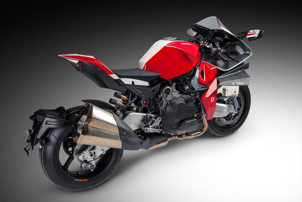 Bimota Tesi H2 Concept - moto pha tron phong cach Nhat va Italy hinh anh 5