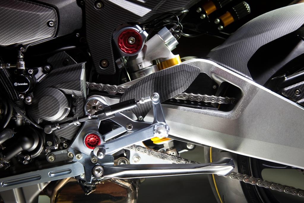 Bimota Tesi H2 Concept - moto pha tron phong cach Nhat va Italy hinh anh 6