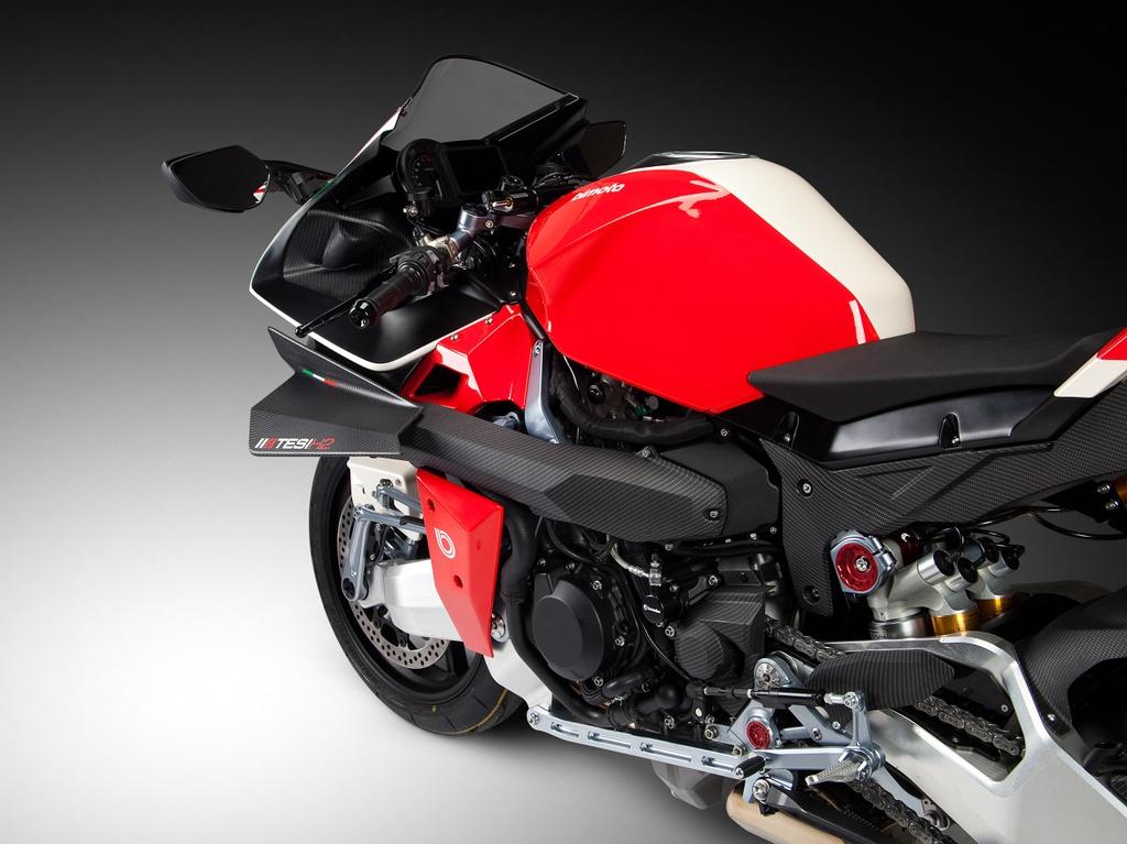 Bimota Tesi H2 Concept - moto pha tron phong cach Nhat va Italy hinh anh 3