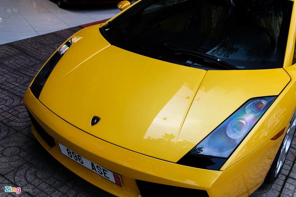 Chiec Lamborghini cua Cuong Do La mo dau phong trao sieu xe o VN hinh anh 12
