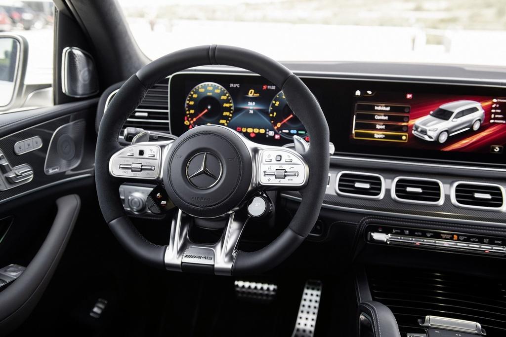 Mercedes-AMG GLS 63 ra mat, manh 625 ma luc hinh anh 6
