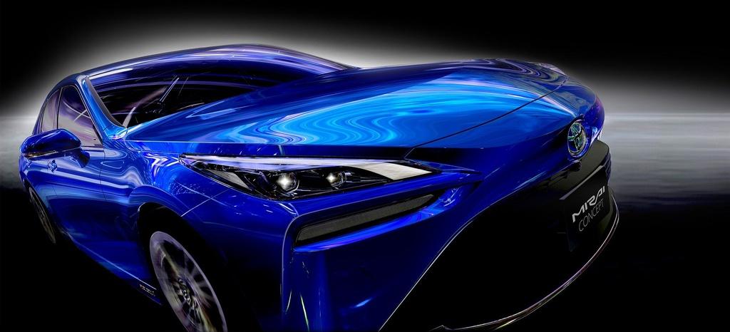 Toyota Mirai Concept - chiec xe xanh trong than xac Lexus hinh anh 6