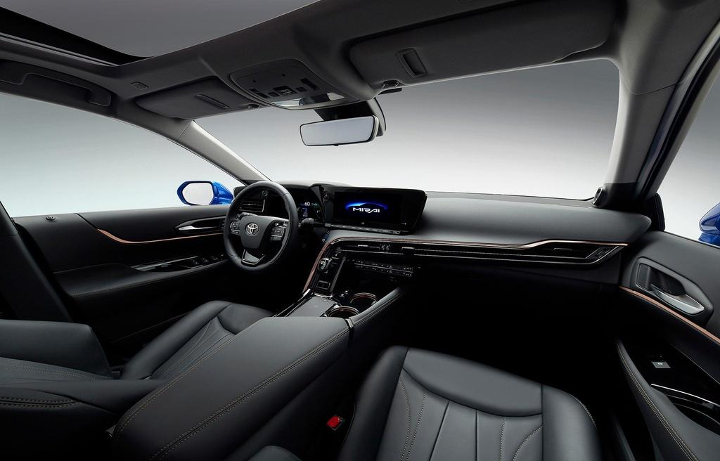 Toyota Mirai Concept - chiec xe xanh trong than xac Lexus hinh anh 9