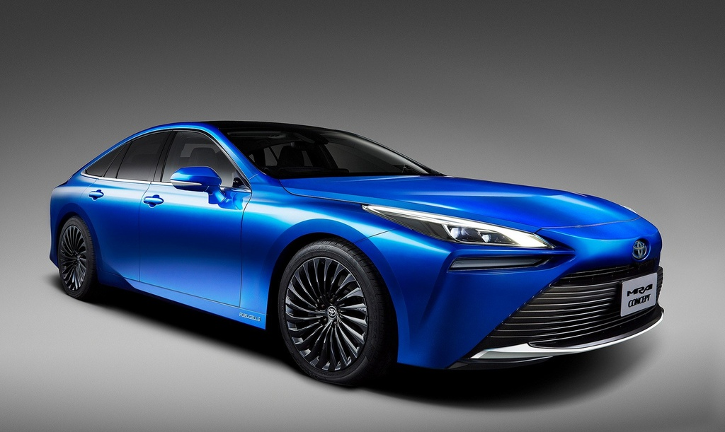 Toyota Mirai Concept - chiec xe xanh trong than xac Lexus hinh anh 3