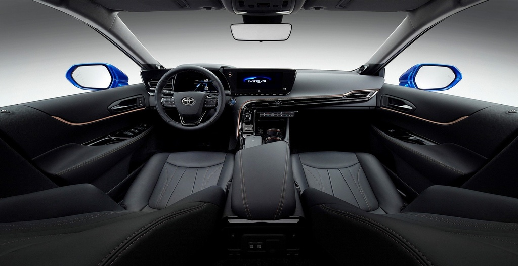 Toyota Mirai Concept - chiec xe xanh trong than xac Lexus hinh anh 7