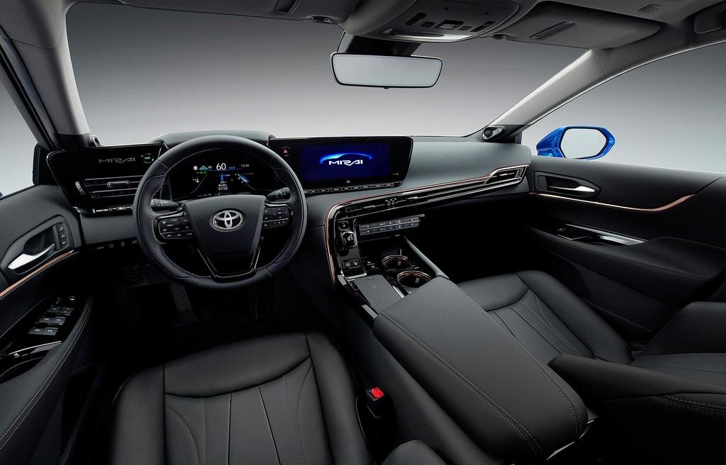 Toyota Mirai Concept - chiec xe xanh trong than xac Lexus hinh anh 8