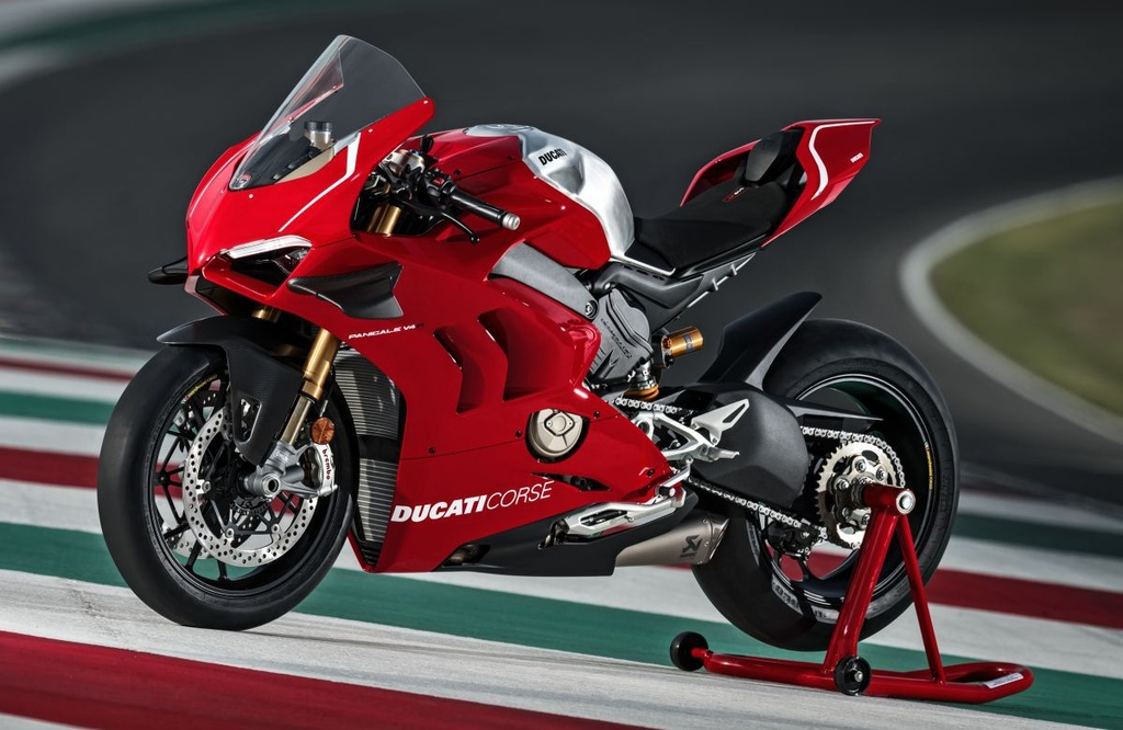 Ducati Panigale V4 R gia nhap luc luong canh sat Abu Dhabi anh 10