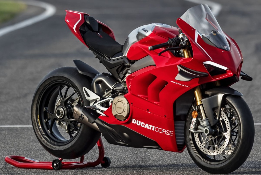 Ducati Panigale V4 R gia nhap luc luong canh sat Abu Dhabi anh 5