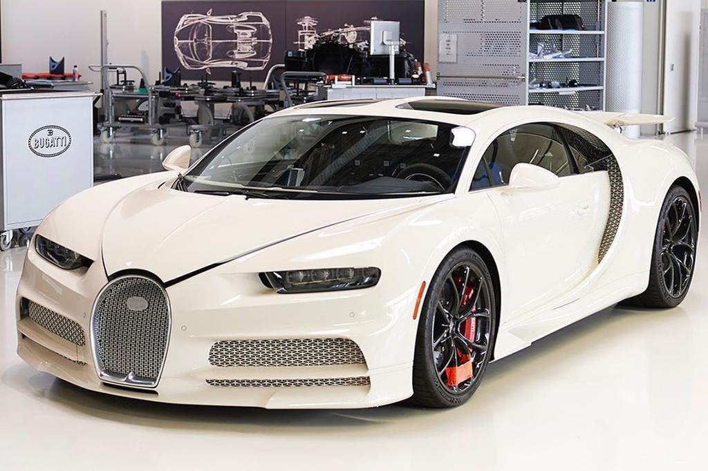 Ket hop voi Hermes, Bugatti ra mat chiec Chiron doc nhat the gioi hinh anh 1 Chiron1.jpg