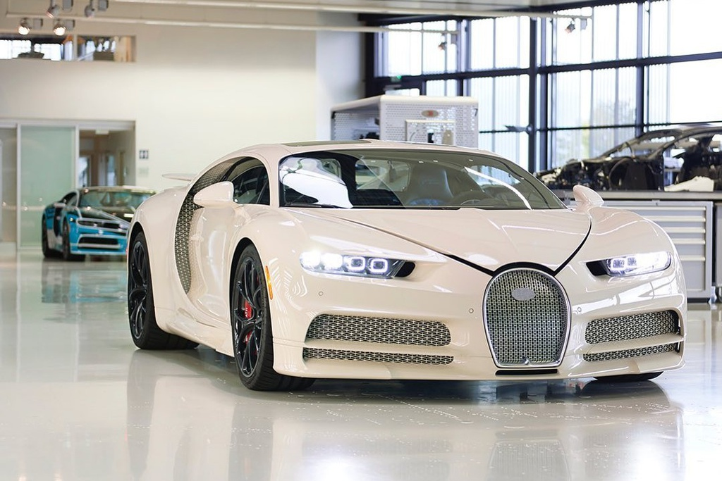 Ket hop voi Hermes, Bugatti ra mat chiec Chiron doc nhat the gioi hinh anh 2 Chiron2.jpg