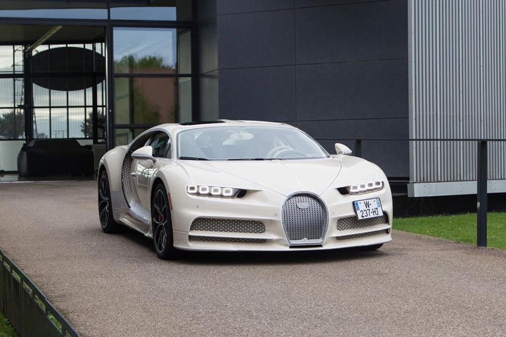 Ket hop voi Hermes, Bugatti ra mat chiec Chiron doc nhat the gioi hinh anh 9 Chiron9.jpg