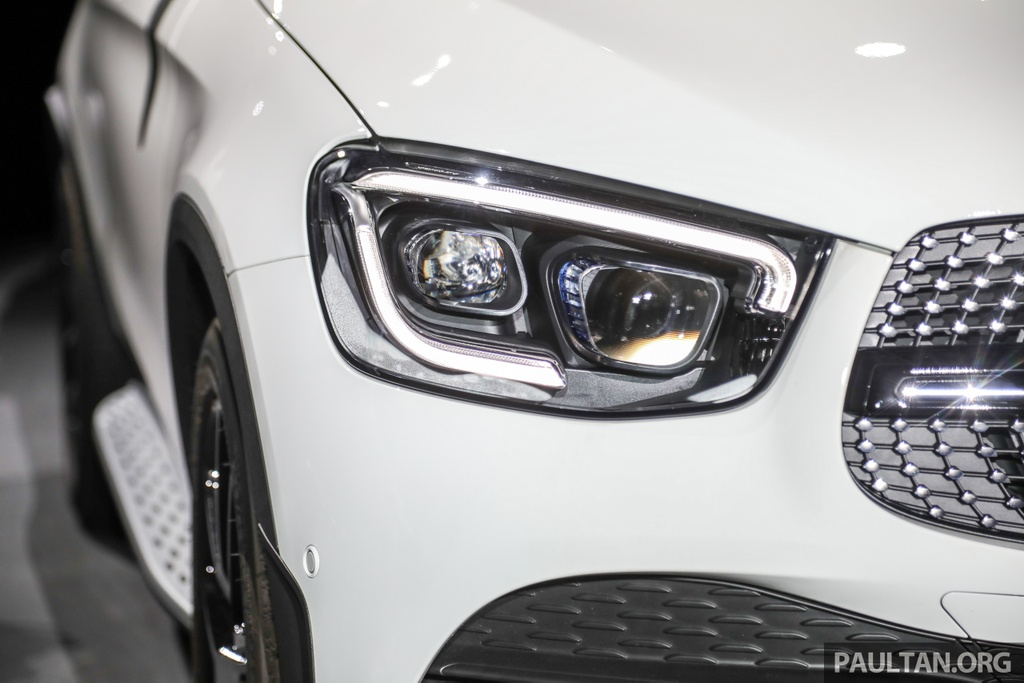 mercedes benz glc 300 coupe facelift ra mat tai malaysia
