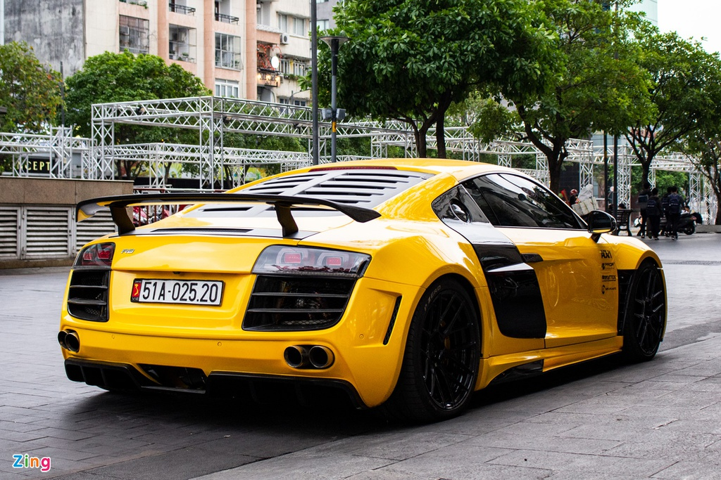 Audi R8 the he dau tien lot xac voi goi do tien ty tai TP.HCM hinh anh 2 IMG_3648_zing.jpg