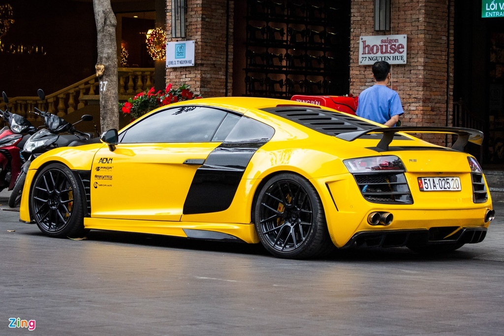 Audi R8 the he dau tien lot xac voi goi do tien ty tai TP.HCM hinh anh 3 IMG_3663_zing.jpg