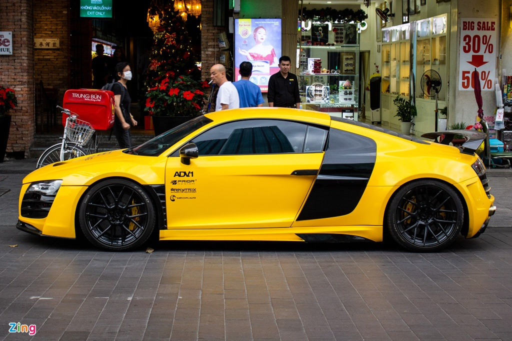 Audi R8 the he dau tien lot xac voi goi do tien ty tai TP.HCM hinh anh 10 IMG_3665_zing.jpg