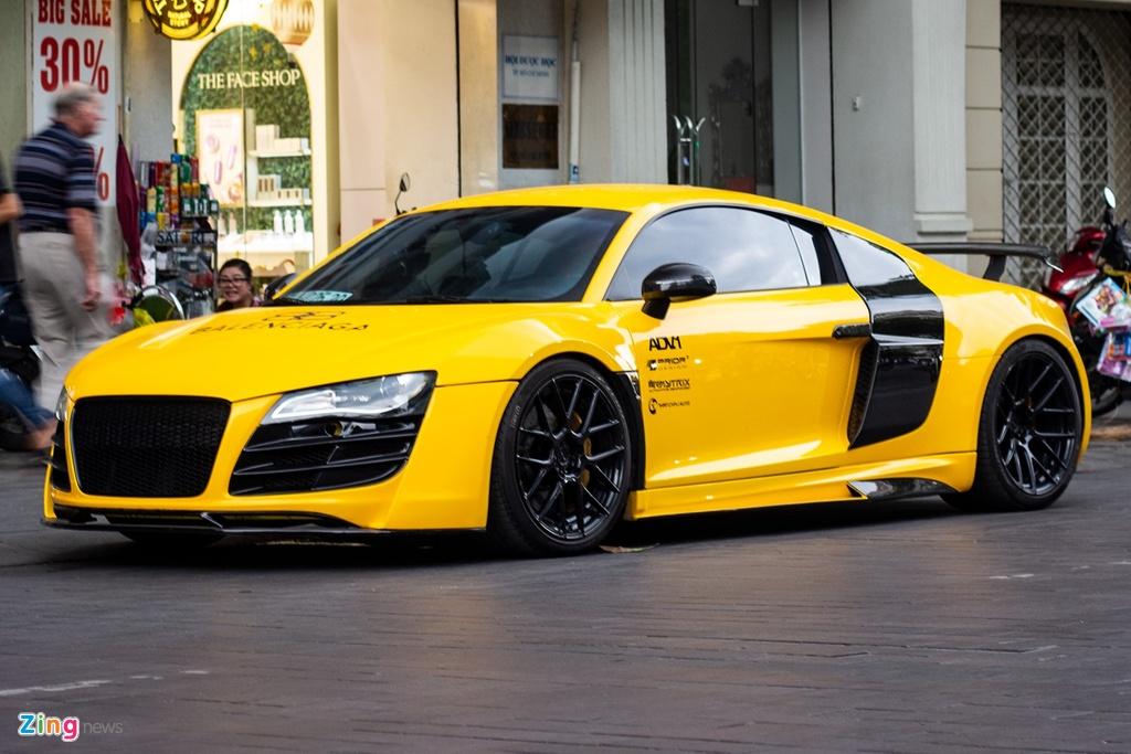 Audi R8 the he dau tien lot xac voi goi do tien ty tai TP.HCM hinh anh 1 IMG_3703_zing.jpg