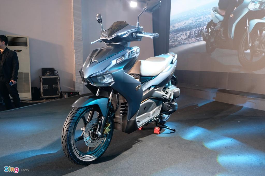 So sanh Honda Air Blade 150 va Yamaha NVX 155 anh 15