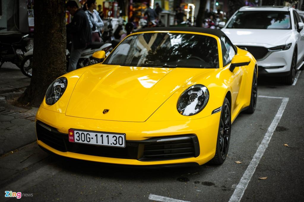Porsche 911 Carrera S Cabriolet dau tien Viet Nam anh 1