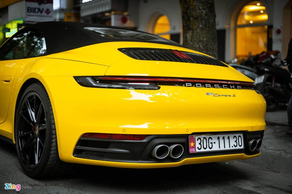 Porsche 911 Carrera S Cabriolet dau tien Viet Nam anh 9