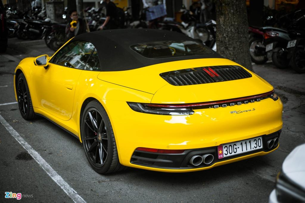 Porsche 911 Carrera S Cabriolet dau tien Viet Nam anh 4