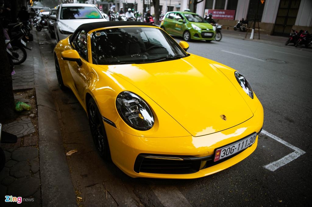 Porsche 911 Carrera S Cabriolet dau tien Viet Nam anh 3