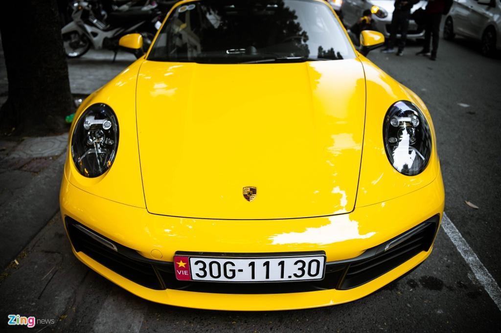 Porsche 911 Carrera S Cabriolet dau tien Viet Nam anh 5