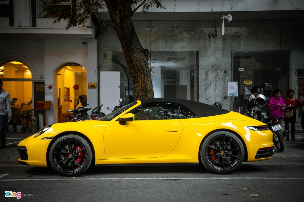 Porsche 911 Carrera S Cabriolet dau tien Viet Nam anh 2