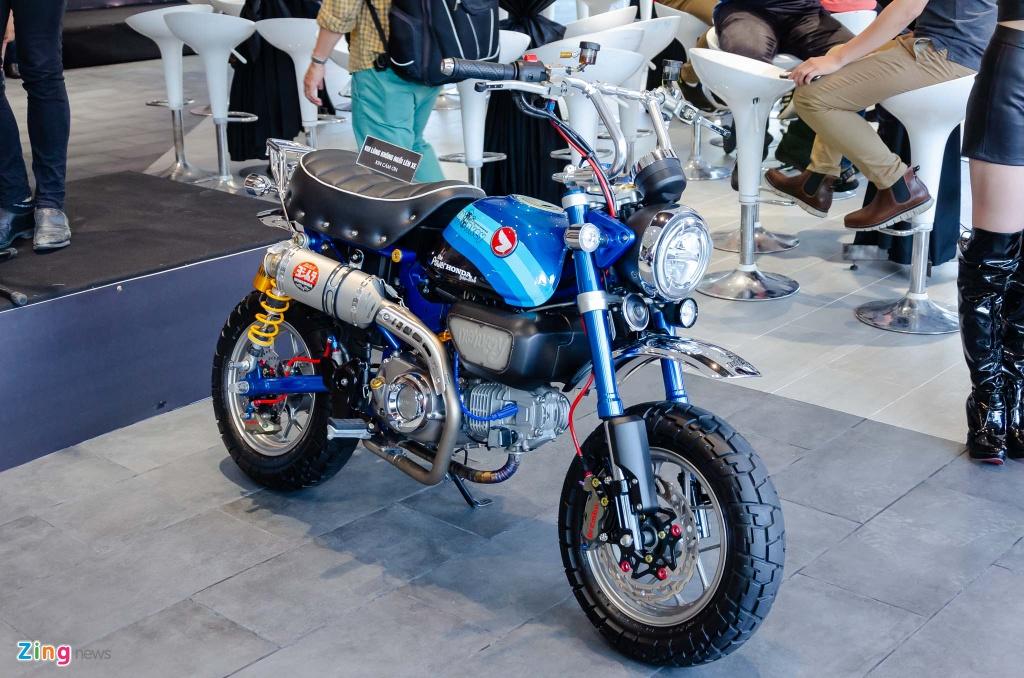 Honda Monkey 125 noi bat tai cuoc thi xe do danh cho phan khoi lon hinh anh 1 Honda_Monkey_125_Zing_1_.jpg