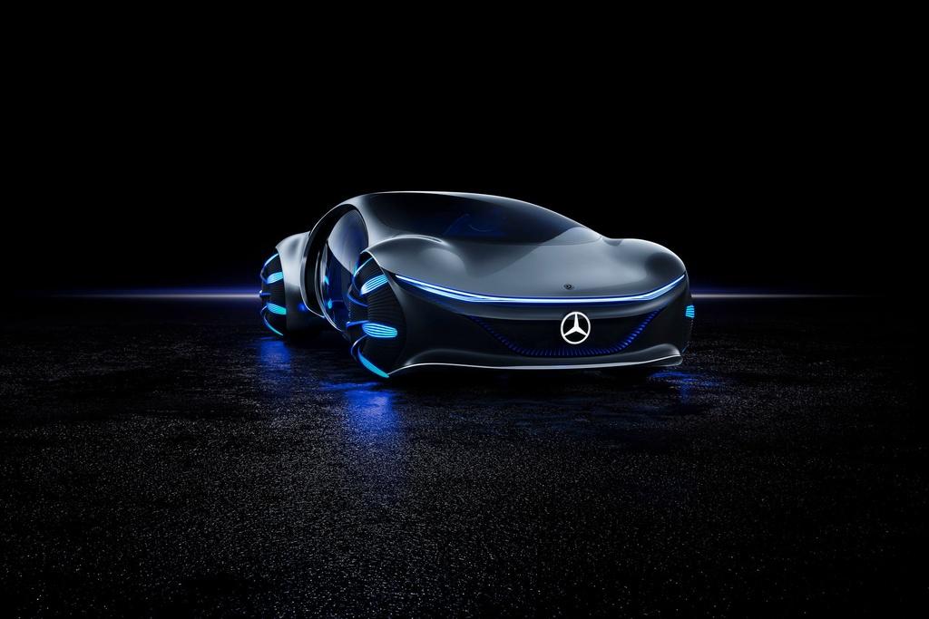 Chi tiết Mercedes-Benz Vision AVTR – mẫu xe lấy cảm hứng từ Avatar