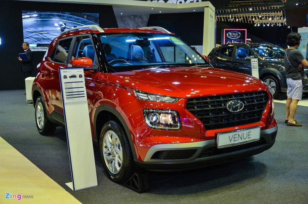 Kham pha Hyundai Venue - SUV nho be cua hang xe Han Quoc hinh anh 1 DSC_2024_zing.jpg