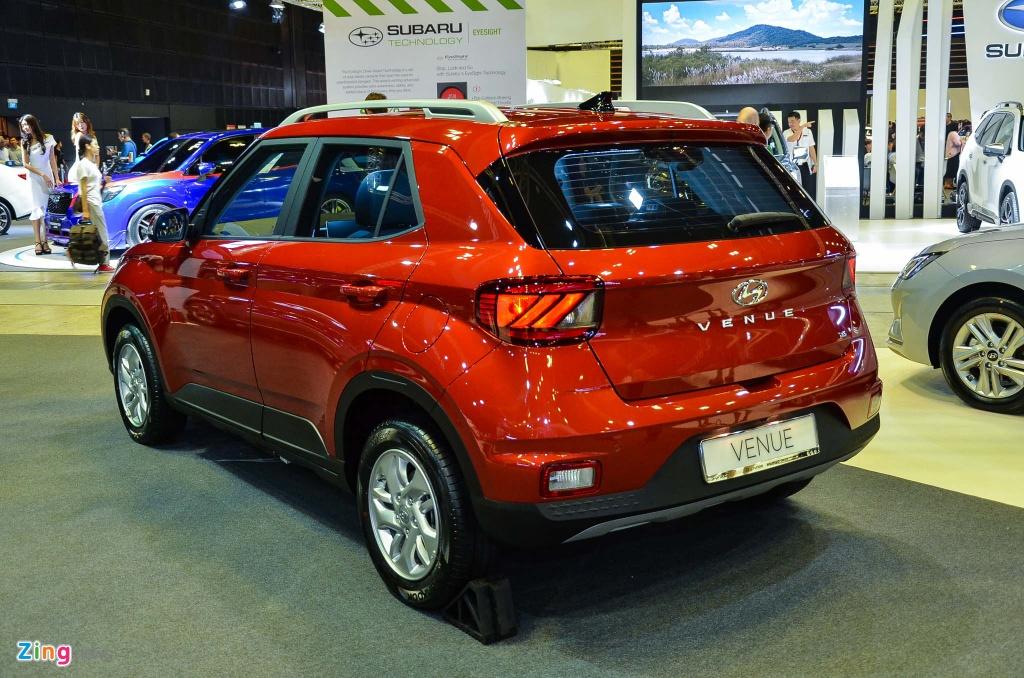 Kham pha Hyundai Venue - SUV nho be cua hang xe Han Quoc hinh anh 2 DSC_2025_zing.jpg