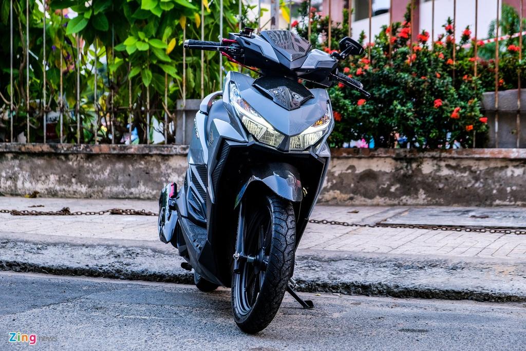 Biker o TP.HCM chi 100 trieu nang cap Honda Vario 150 hinh anh 2 DSCF0192_zing.jpg