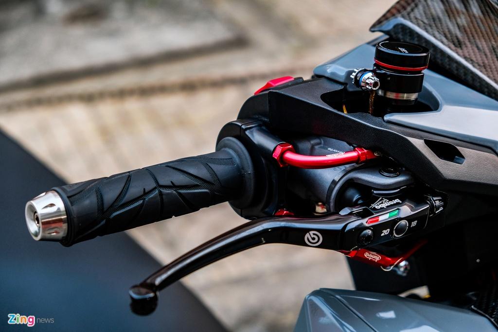 Biker o TP.HCM chi 100 trieu nang cap Honda Vario 150 hinh anh 4 DSCF0194_zing.jpg