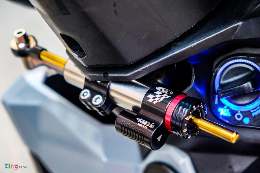 Biker o TP.HCM chi 100 trieu nang cap Honda Vario 150 hinh anh 6 DSCF0196_zing.jpg