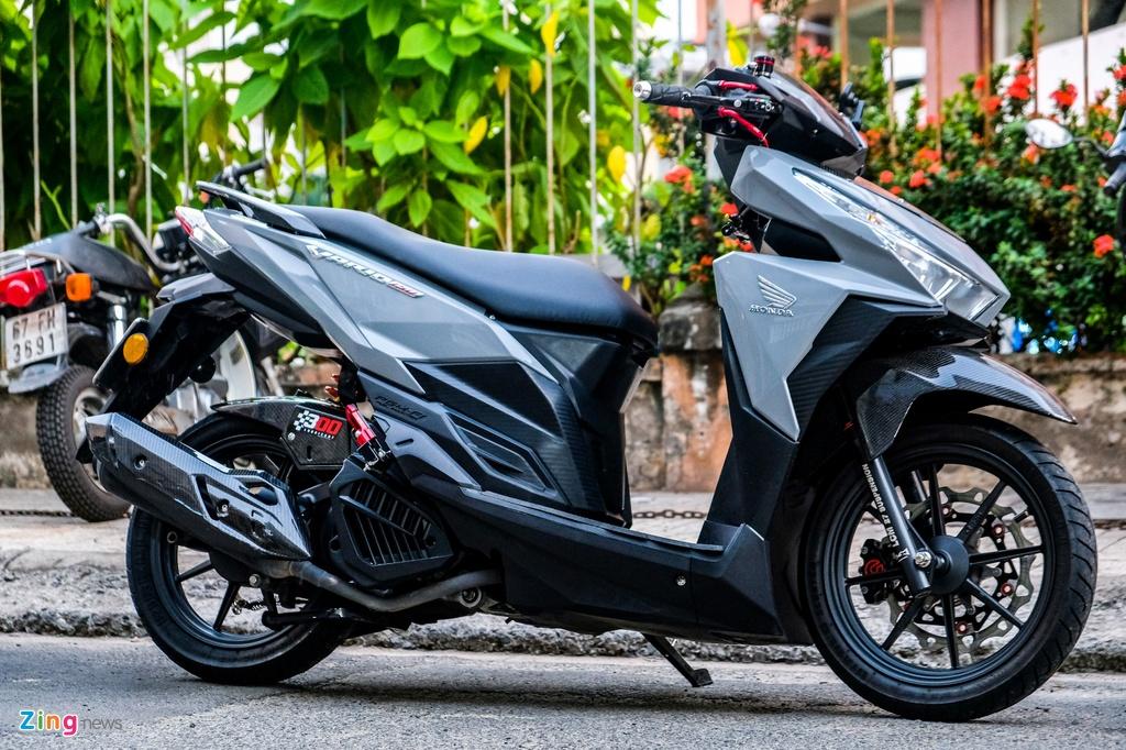 Biker o TP.HCM chi 100 trieu nang cap Honda Vario 150 hinh anh 11 DSCF0224_zing.jpg