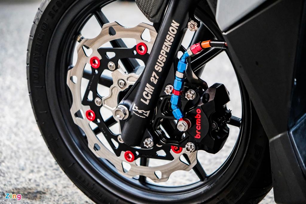 Biker o TP.HCM chi 100 trieu nang cap Honda Vario 150 hinh anh 7 DSCF0227_zing.jpg