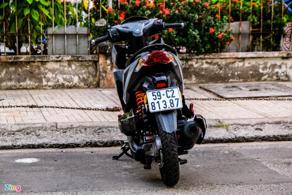 Biker o TP.HCM chi 100 trieu nang cap Honda Vario 150 hinh anh 3 DSCF0241_zing.jpg