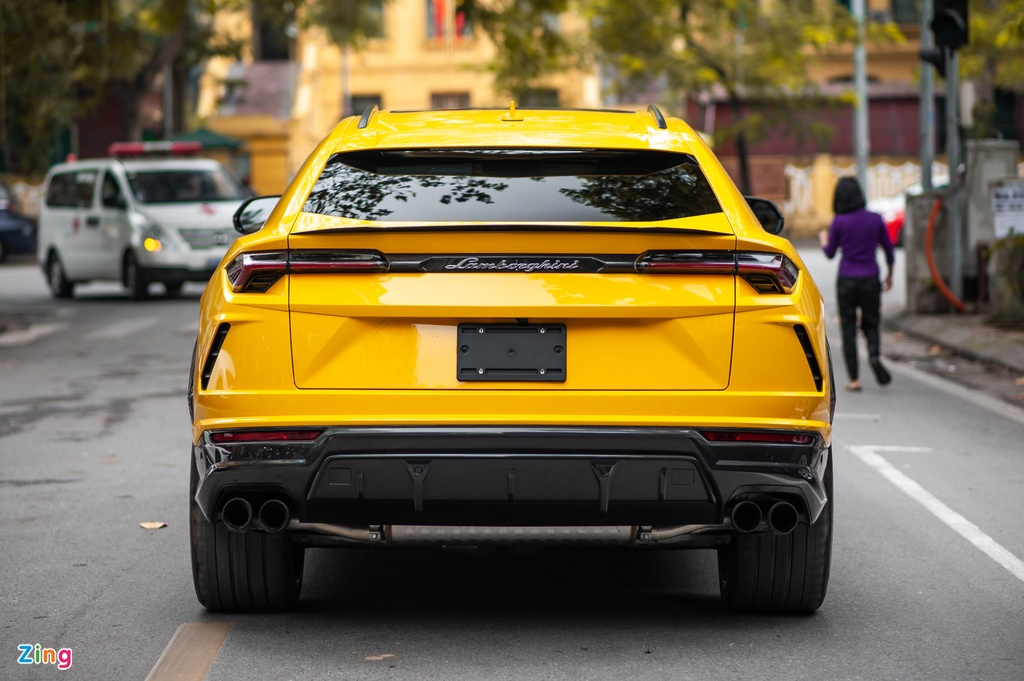 Chi tiet Lamborghini Urus thu 7 ve Viet Nam, nhieu tuy chon dang gia hinh anh 10 BAC_3100_zing.jpg