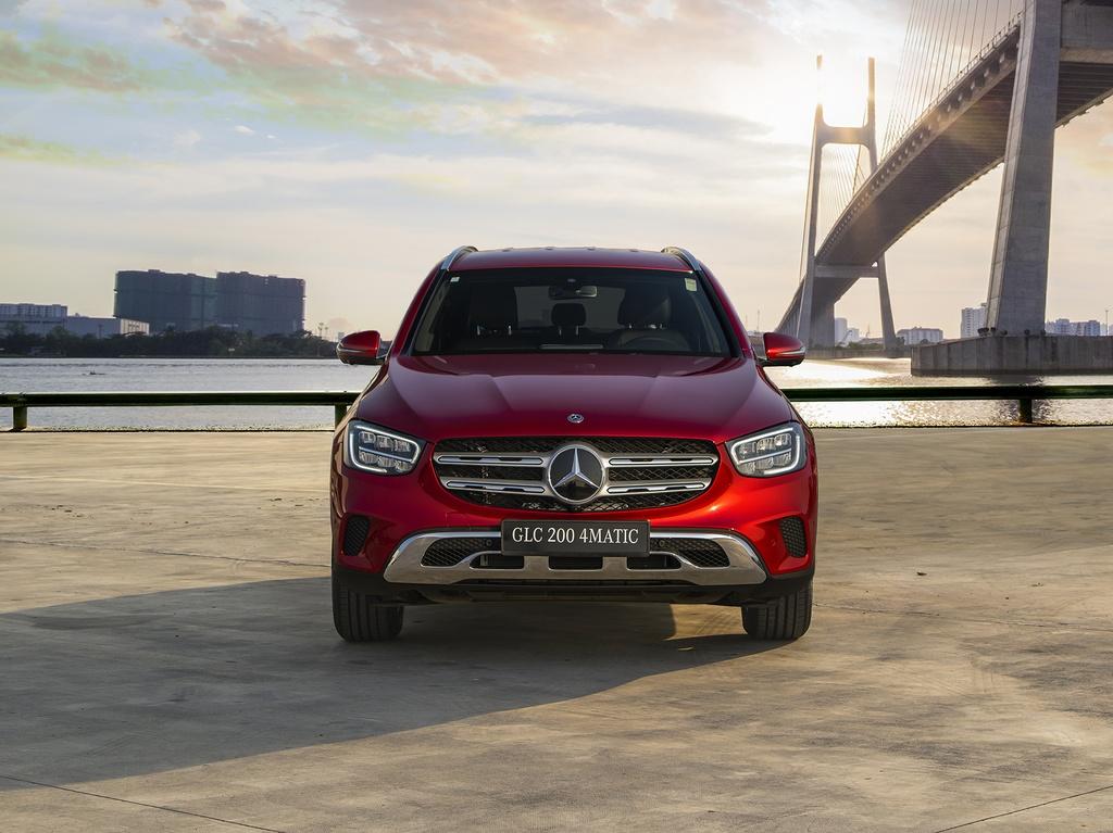 Mercedes-Benz GLC 2020 ra mat Viet Nam anh 3