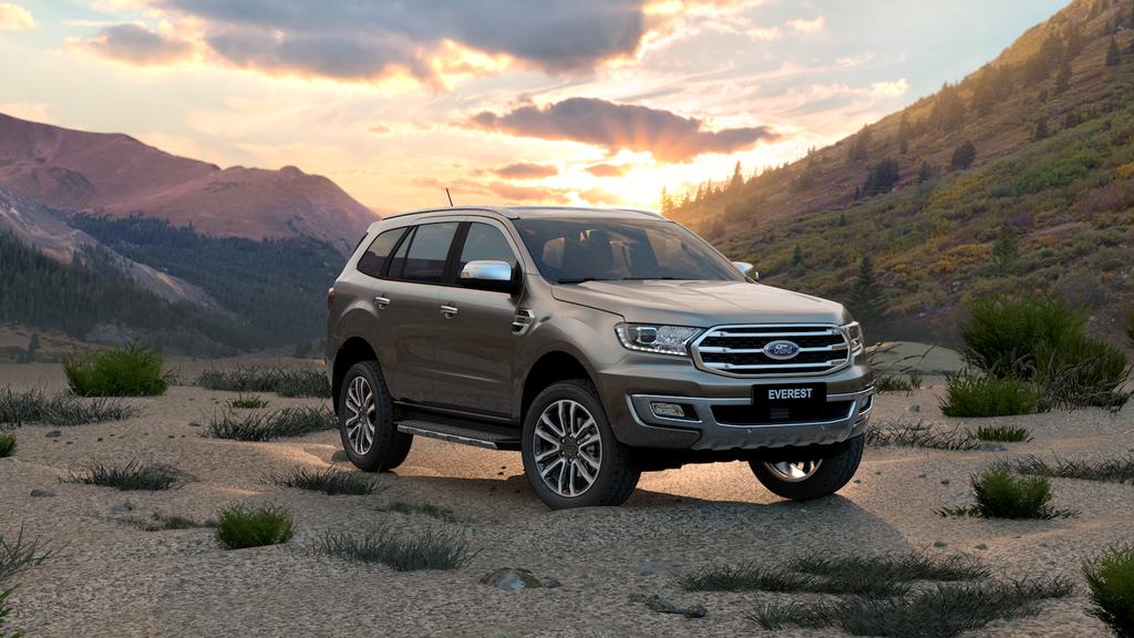 Ford ra mat Ranger va Everest 2020 anh 2