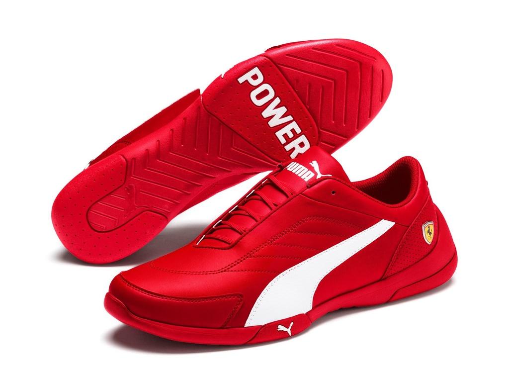 Ngoài những món quà trên, bạn có thể tặng người đàn ông của mình những vật lưu niệm, quần áo có liên quan đến các hãng xe. Một đôi giày Puma hợp tác với Ferrari giá 1,5 triệu hay chiếc áo thun của BMW hoặc Ducati giá vài trăm nghìn cũng sẽ khiến chàng hạnh phúc. Ảnh: Rakuten.