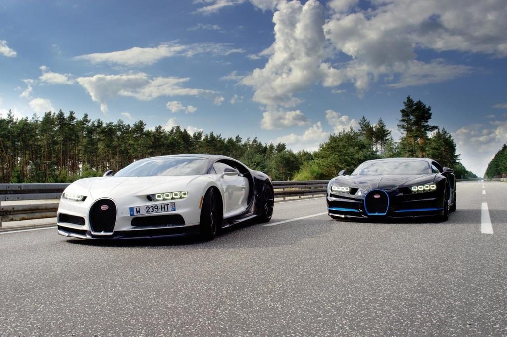 Bugatti Chiron: Ở thời điểm ra mắt, Bugatti Chiron được mệnh danh là