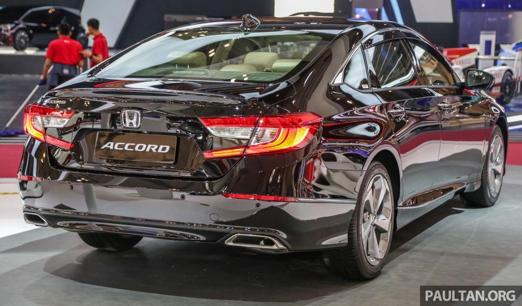 Honda Accord 2020 ra mat Malaysia, dong co manh hon tai VN hinh anh 3 GIIAS_2019_Honda_Accord_2.jpg