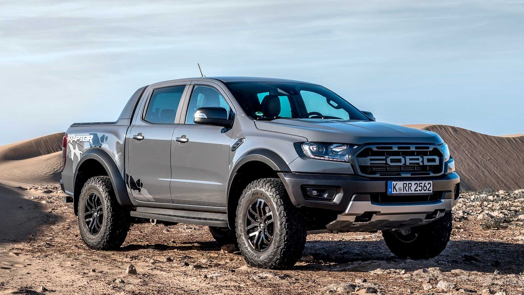 Ford Ranger Raptor V8 2021 co the manh 709 ma luc anh 1