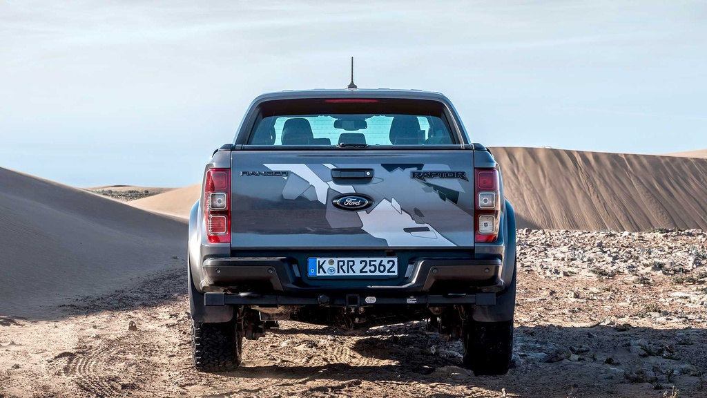 Ford Ranger Raptor V8 2021 co the manh 709 ma luc anh 5